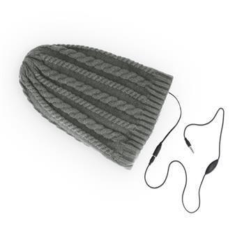 Zimní čepice se sluchátky Forever Braids šedá