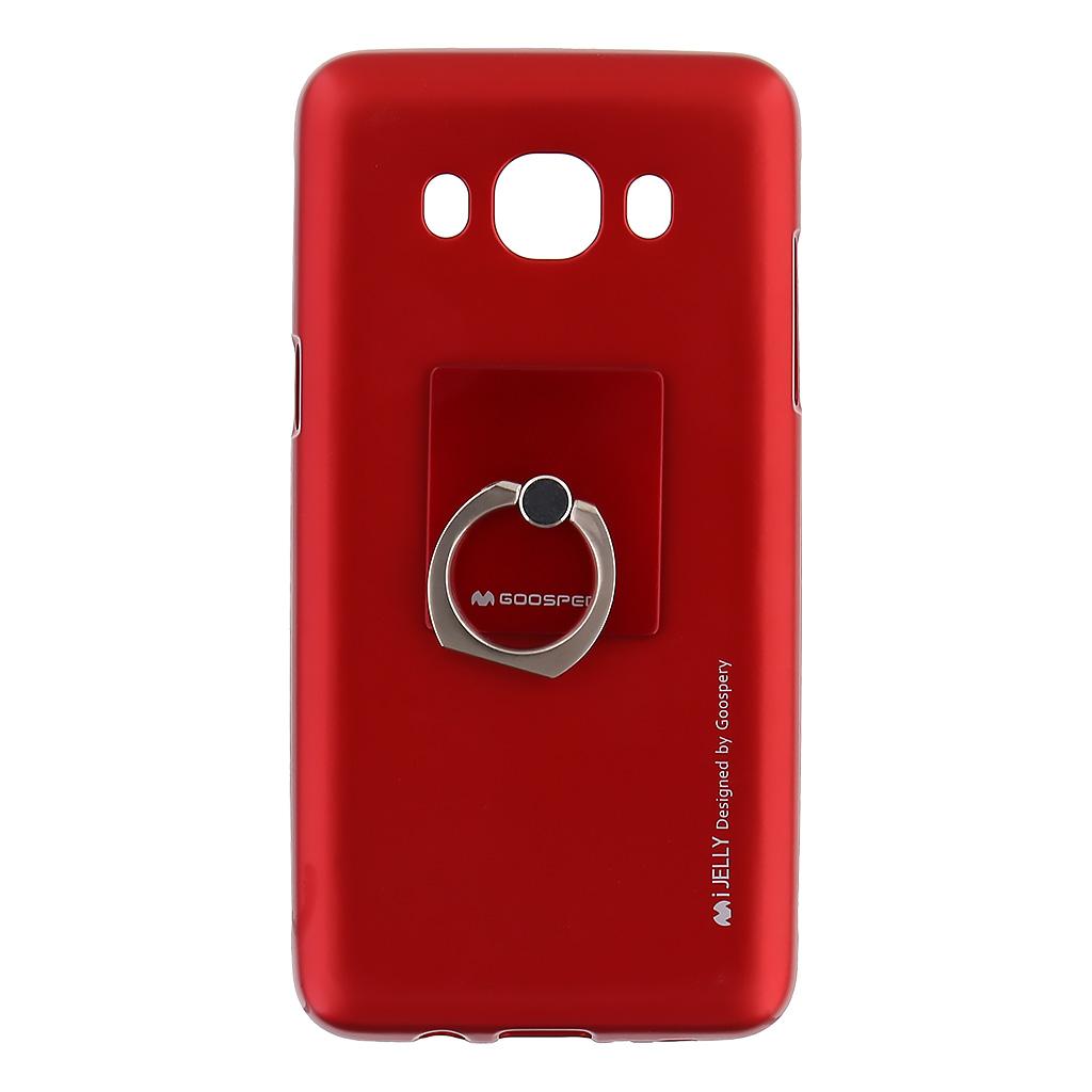 Mercury i-Jelly Ring silikonové pouzdro pro Samsung J510 Galaxy J5 2016 Red