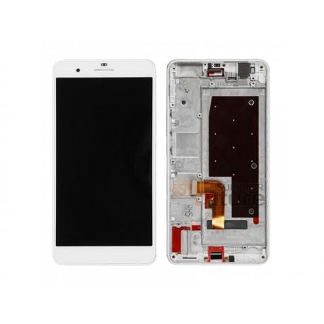 LCD displej + dotyk. deska + př. kryt pro Honor 6 Plus, bílý