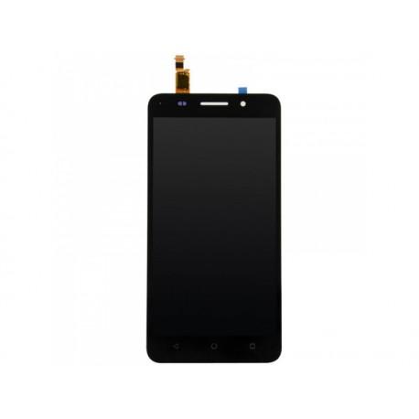 LCD displej + dotyk. deska + př. kryt pro Honor 6 Plus, černý