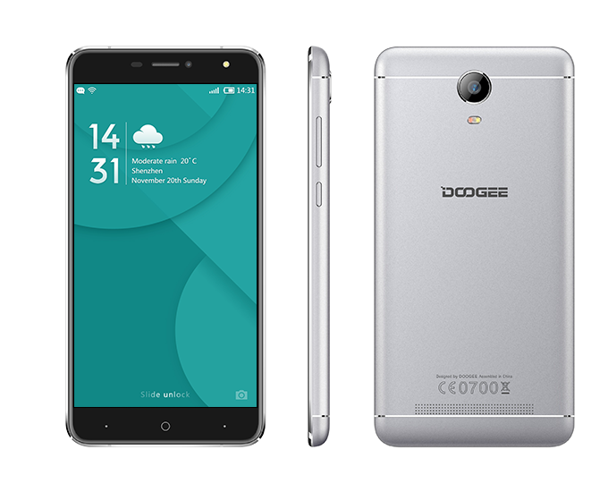 Doogee X7 16GB Silver