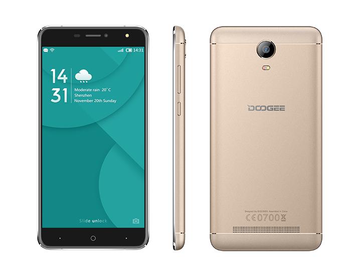 Doogee X7 Pro 16GB Gold