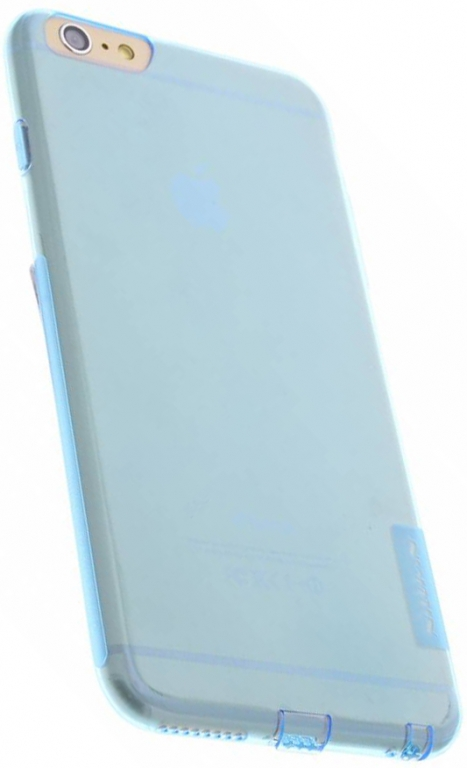 Nillkin Nature silikonové pouzdro pro Apple iPhone 7 Plus, modré