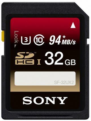 Paměťová SD karta Sony SF32UX2 32GB class 10
