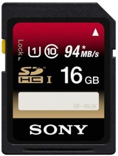 Paměťová SD karta Sony SF16UX 16GB class 10