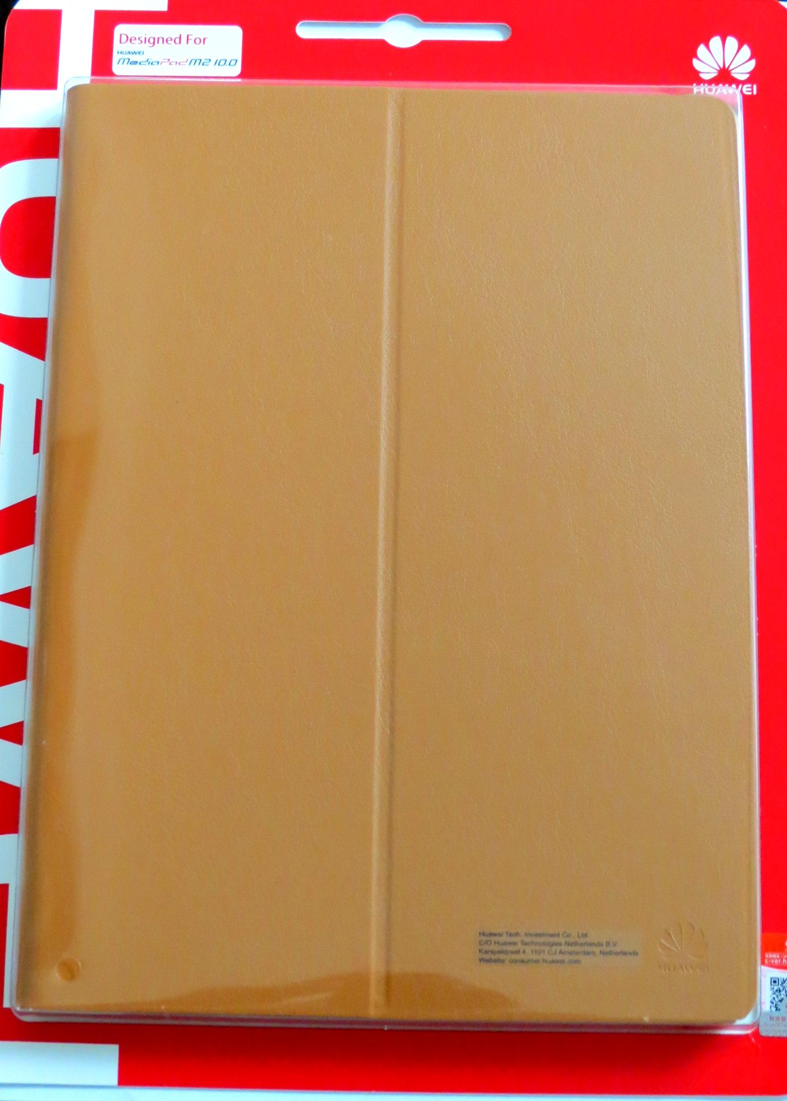 HUAWEI flipové pouzdro na tablet Huawei MediaPad M2 10.0 hnědé