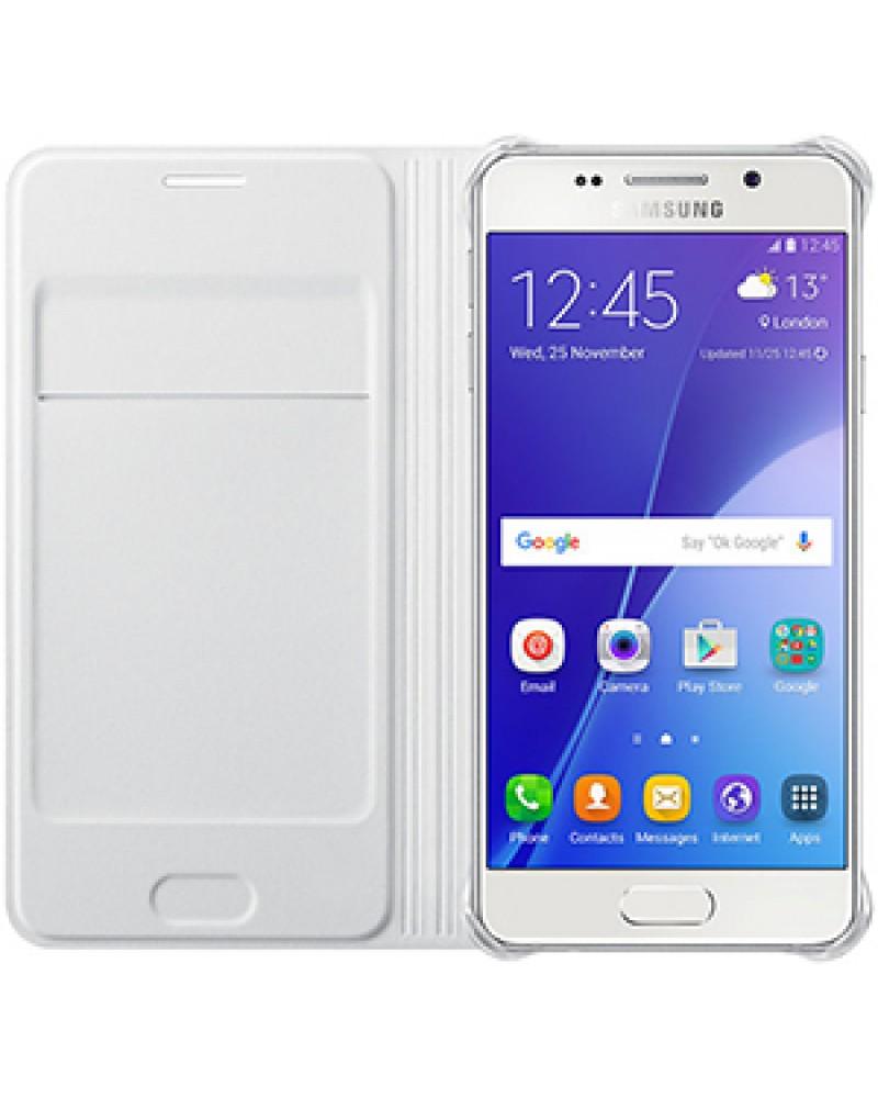 Samsung EF-WA310PWE pouzdro flip Samsung Galaxy A3 2016 bílé