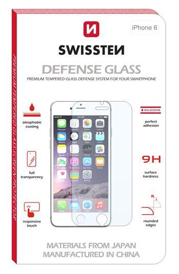 SWISSTEN Tvrzené sklo Apple iPhone 4/4s RE 2,5D