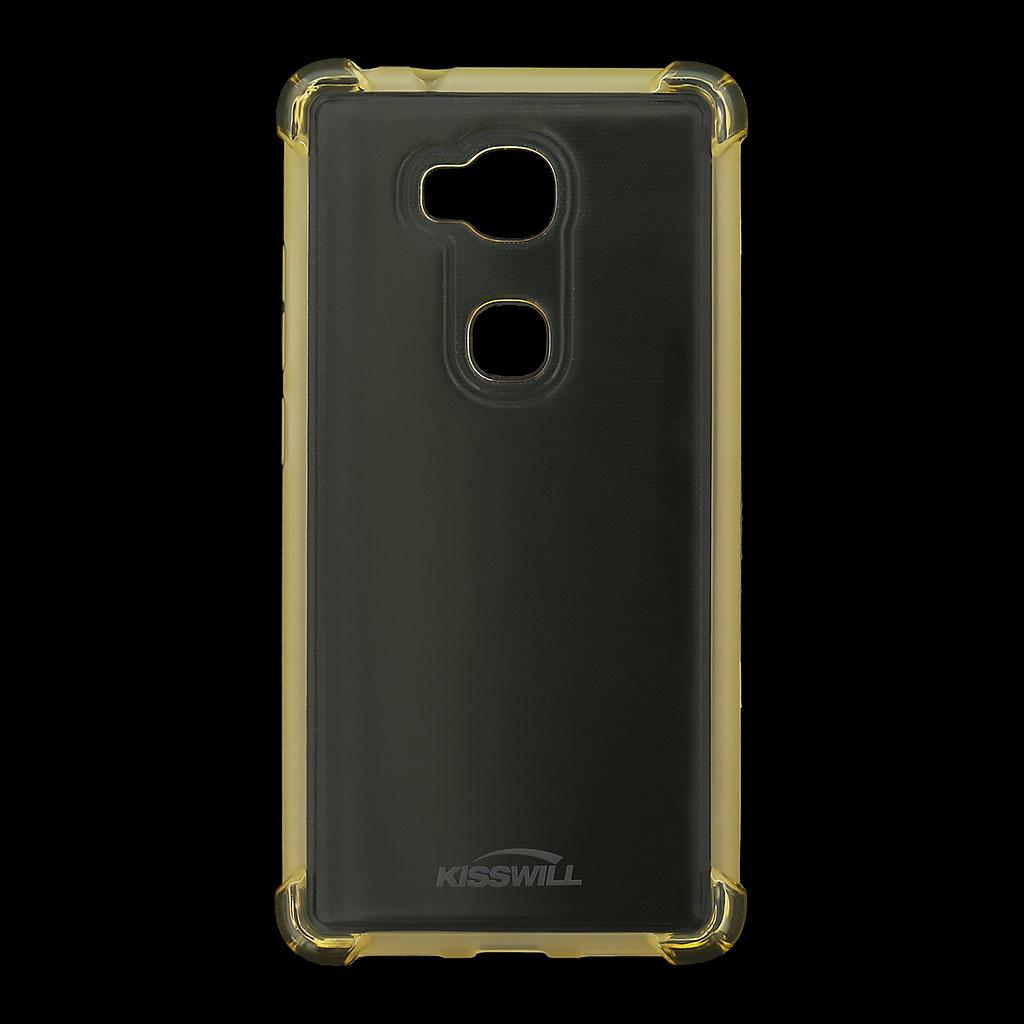 Kisswill Shock silikonové pouzdro pro Honor 7 Lite zlaté