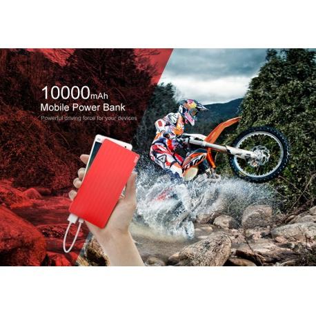 Power bank Xiaomi PB810 10000mAh červená