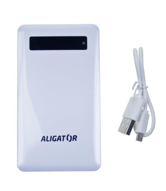 Aligator Powerbank slim 4000mAh White