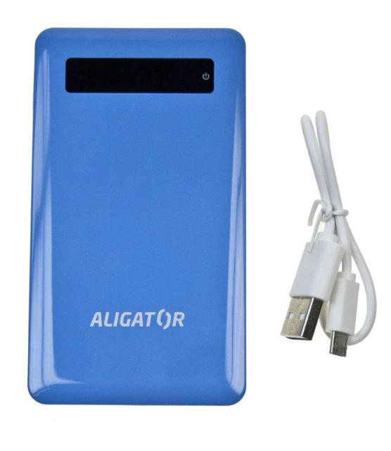 Aligator Powerbank slim 4000mAh Blue
