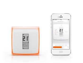Chytrý Wi-Fi termostat Netatmo Thermostat + DOPRAVA ZDARMA