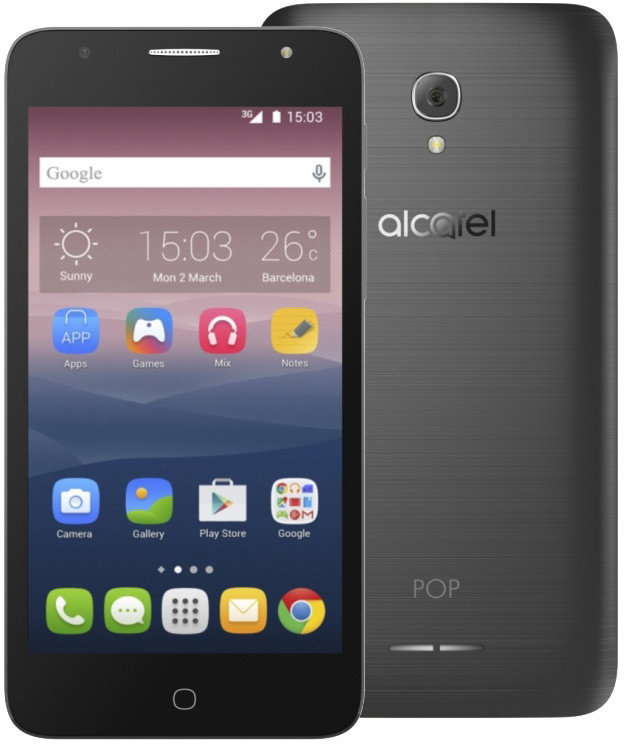 ALCATEL POP 4+ 5056D Dark Grey