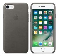 Apple iPhone 7 kožené pouzdro Storm Gray