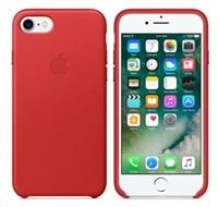 Apple iPhone 7 kožené pouzdro Red