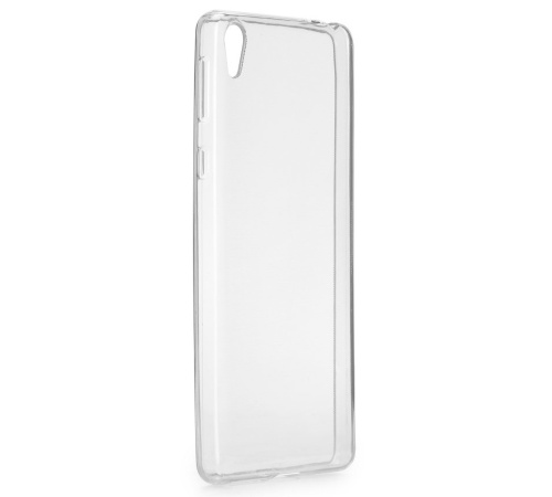 Ochranný zadní kryt Forcell Ultra Slim 0,5mm pro Sony Xperia E5 (F3311) bezbarvý