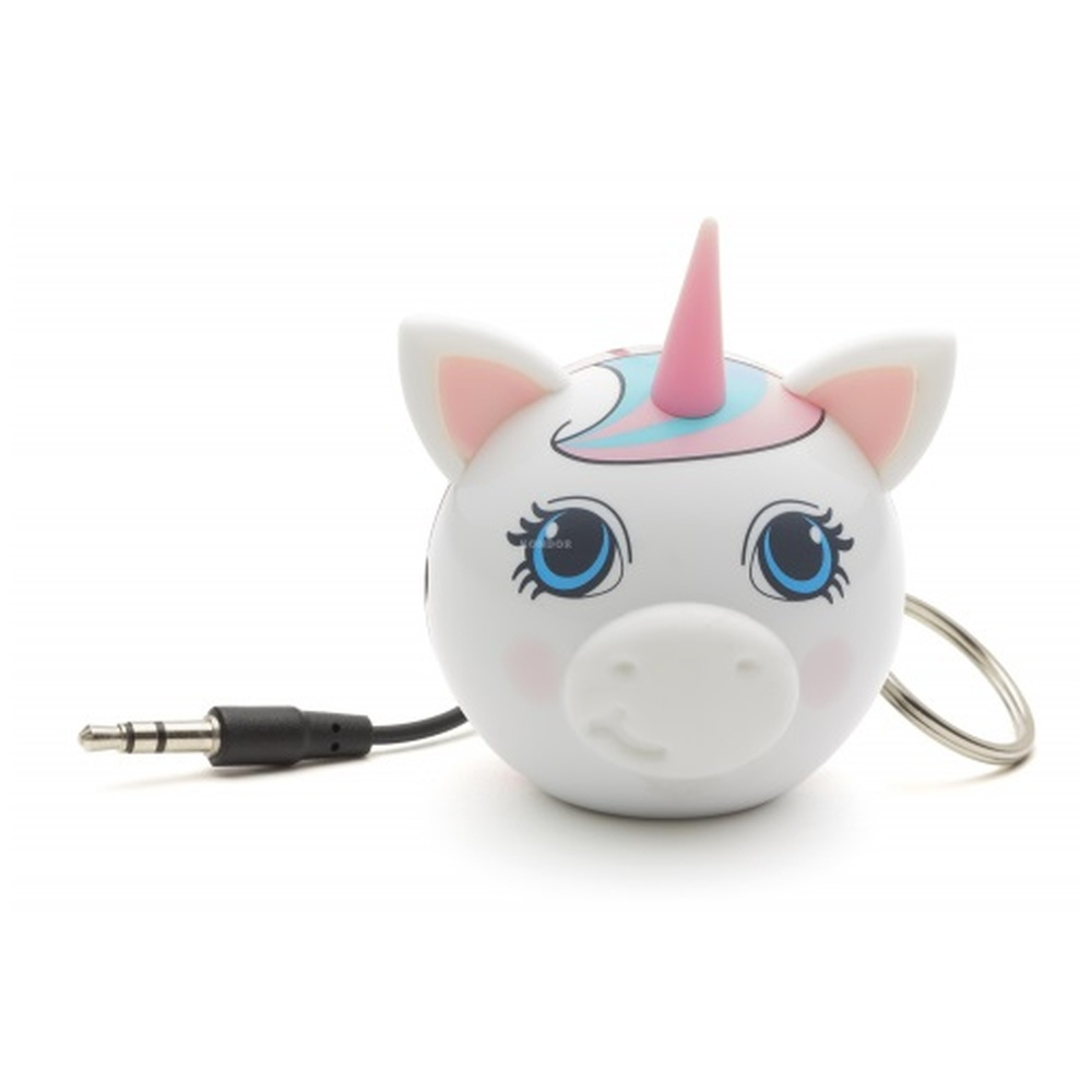 Reproduktor KITSOUND Mini Buddy UNICORN, 3,5 mm jack