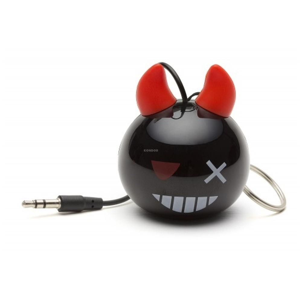 Reproduktor KITSOUND Mini Buddy DEVIL BOMB, 3,5 mm jack