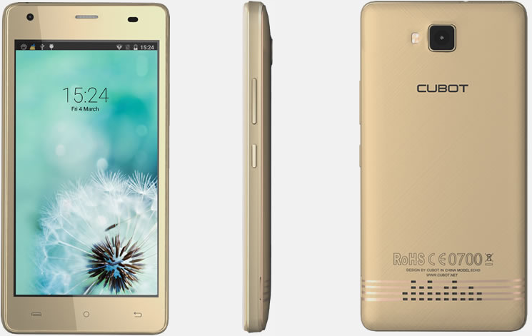 Cubot Echo 16GB Gold
