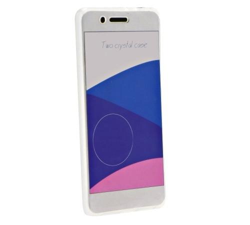 Ochranný kryt 2v1 pro Samsung Galaxy J5 (J500) bezbarvý