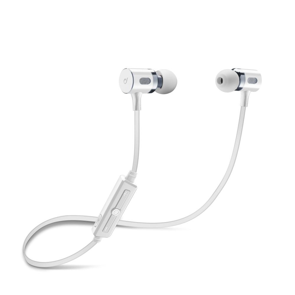 Bezdrátová In-ear stereo sluchátka Cellularline Mosquito White