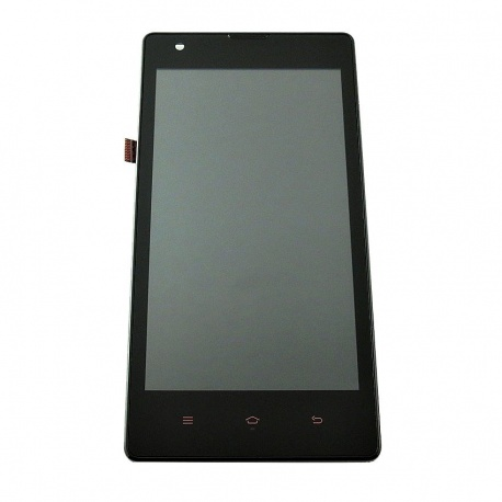 LCD display, dotyková deska a rámeček pro Xiaomi Redmi 1S Black