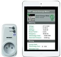 CONRAD Měřič spotřeby a spínací zásuvka pro iOS a Android Voltcraft SEM-3600BT