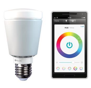 BeeWi Bluetooth Smart LED Color Bulb 7W E27, chytrá programovatelná žárovka (BBL227A1)