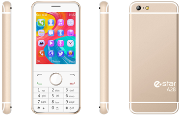 eSTAR A28 DualSIM Gold