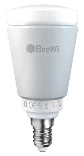BeeWi Bluetooth Smart LED Color Bulb 5W E14, chytrá programovatelná žárovka
