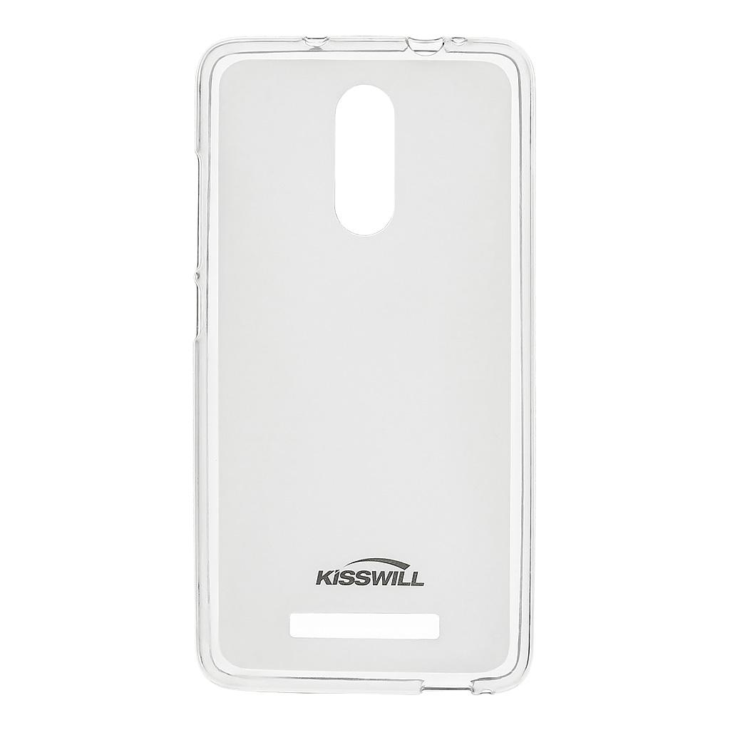 Kisswill silikonové pouzdro pro Xiaomi Redmi Note 3 transparentní