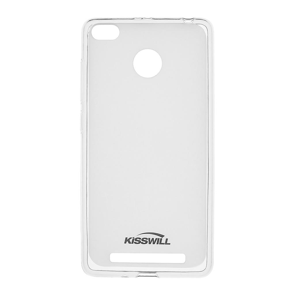 Kisswill silikonové pouzdro pro Xiaomi Redmi 3 Pro transparentní