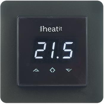 Z-Wave Heatit Termostat pro podlahové topení, černý