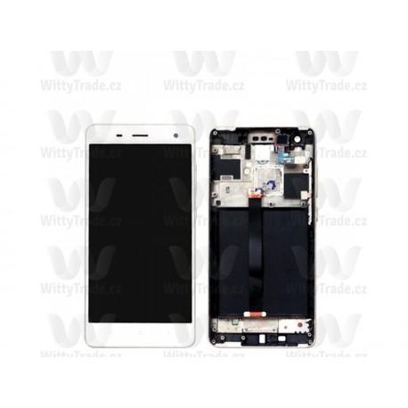LCD display, dotyková deska a rámeček pro Xiaomi Mi4 White