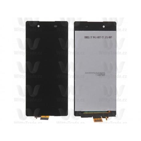 LCD display, dotyková deska a rámeček pro Sony Xperia Z4 Black
