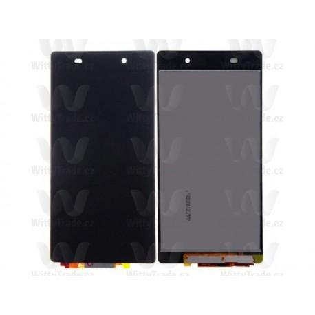 LCD display, dotyková deska a rámeček pro Sony Xperia Z2 Black