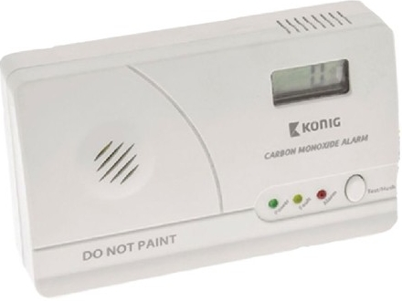 König SAS-CA200 - Detektor oxidu uhelnatého (CO Alarm) s LCD displejem