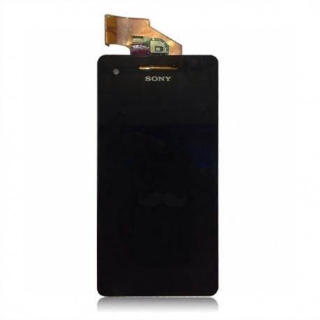 LCD display, dotyková deska a rámeček pro Sony Xperia V White