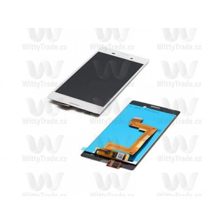 LCD display, dotyková deska a rámeček pro Sony M4 White