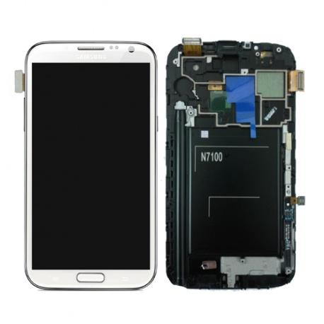 LCD display a dotyková deska pro Samsung Galaxy Note 2 (N7100) White