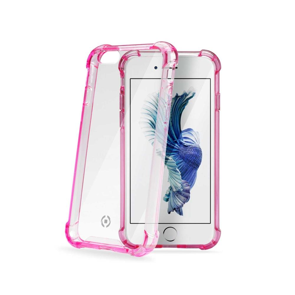Zadní kryt CELLY Armor pro Apple iPhone 6/6S, růžový