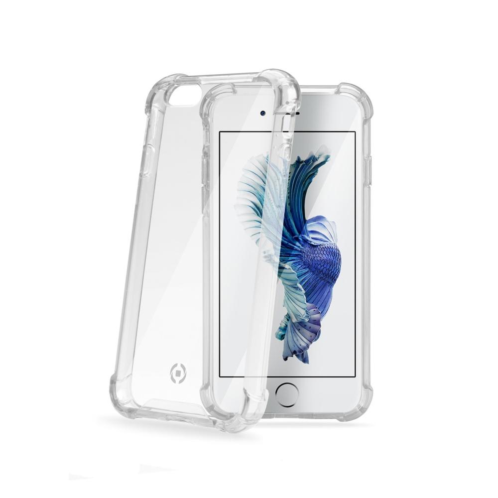 Zadní kryt CELLY Armor pro Apple iPhone 6/6S, bílý