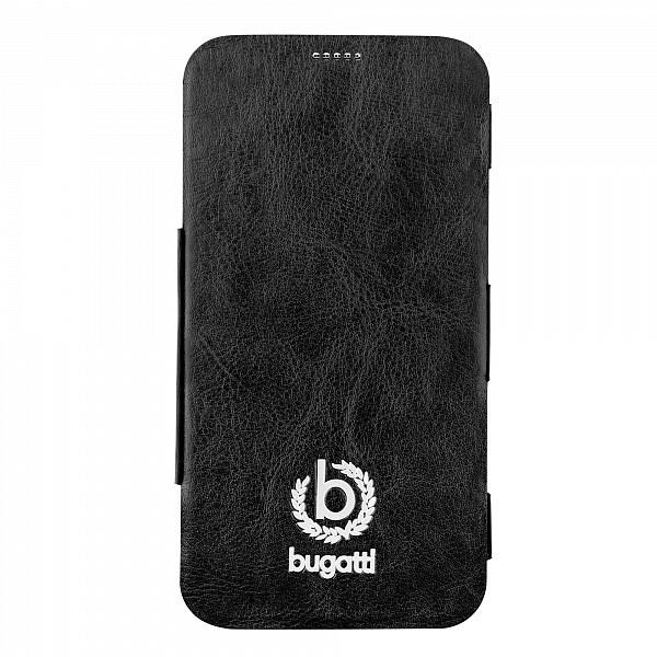 Bugatti Geneva Folio Pouzdro Black pro Samsung G900 Galaxy S5