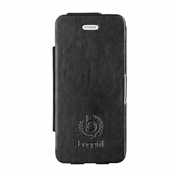 Bugatti Ultra Thin Folio Kožené Pouzdro Black pro iPhone 5, 5S