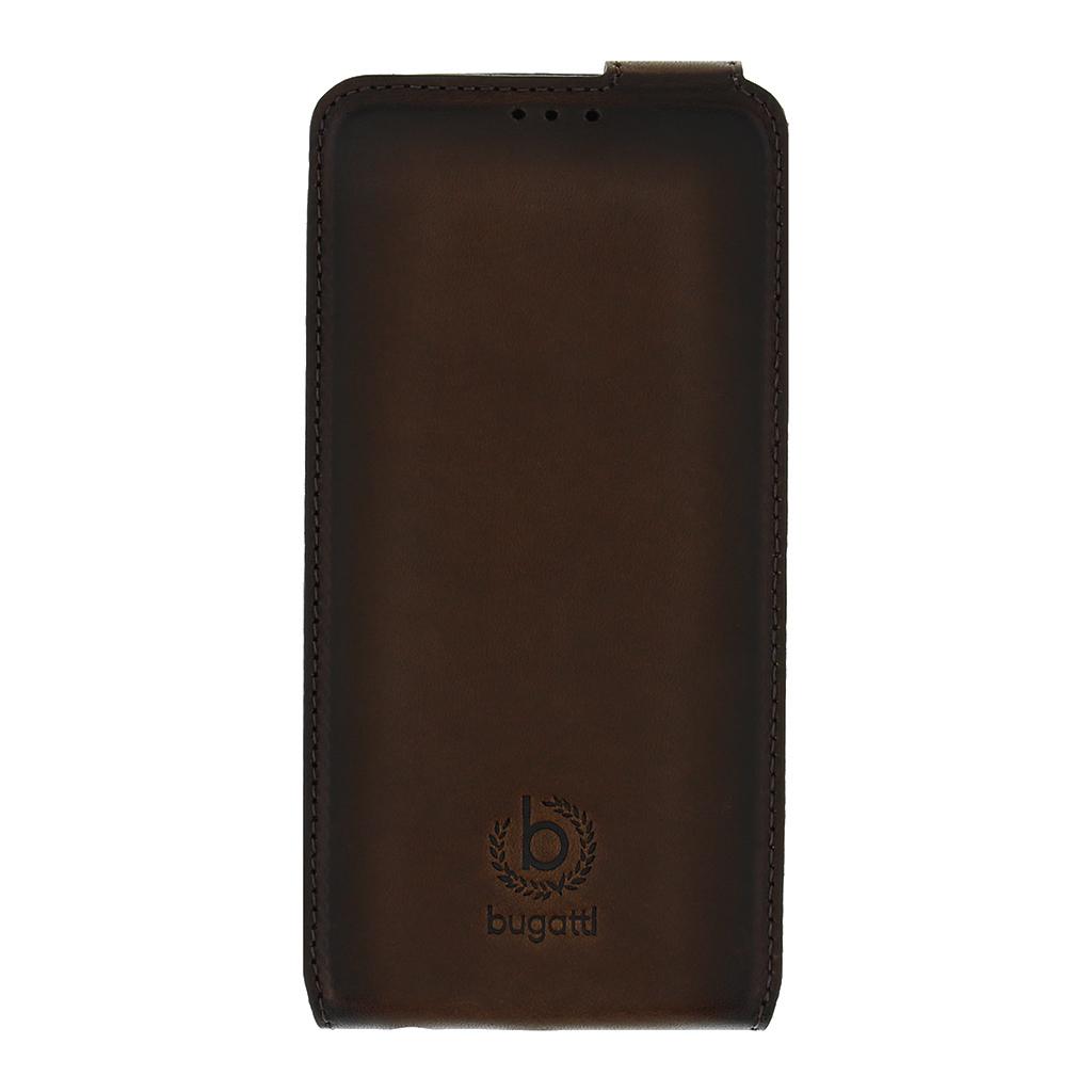 Bugatti Amsterdam Flip Pouzdro Brown pro Samsung Galaxy S6