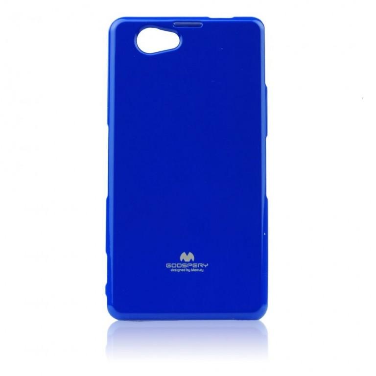 Jelly Case Bright silikonové pouzdro pro Lenovo A5000, modré