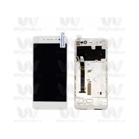 LCD display a dotyková deska pro Lenovo S90 White / Pink