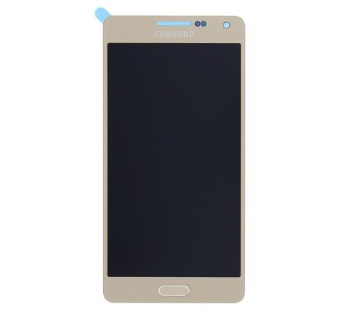 ND Samsung A700 Galaxy A7 LCD + dotyková deska, gold/zlatá