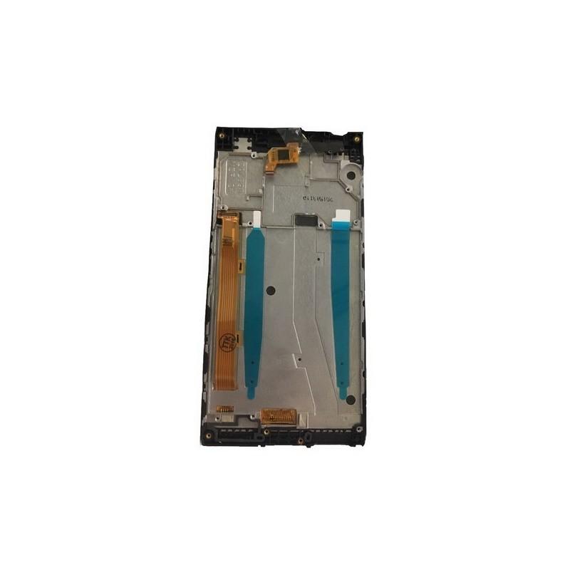 LCD display, dotyková deska a rámeček pro Lenovo P70 Black